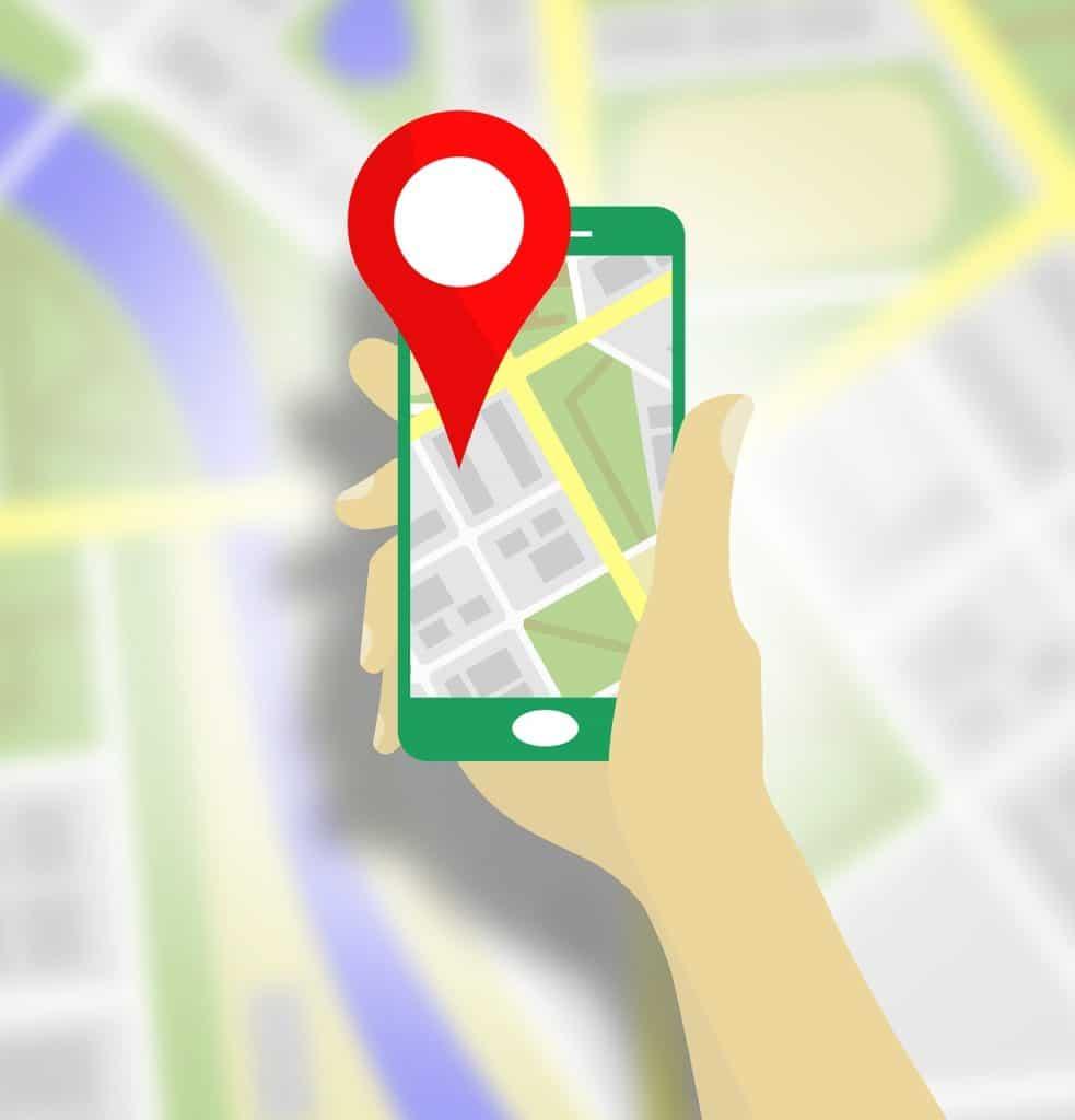 Utilisez google map