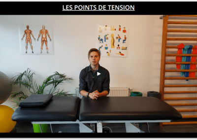 les points de tension en naturopathie
