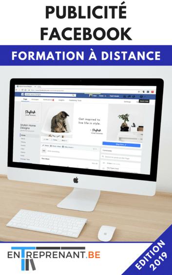 formation sur la publicité facebook