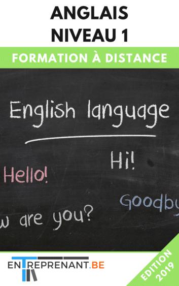 Formation à distance pour apprendre l'anglais