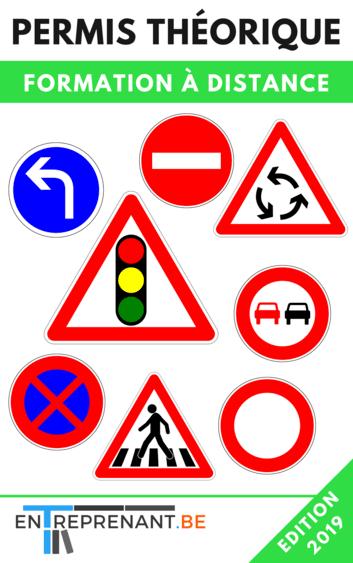 formation pour le permis théorique voiture en belgique