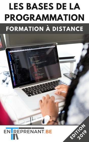 Formation pour apprendre la programmation