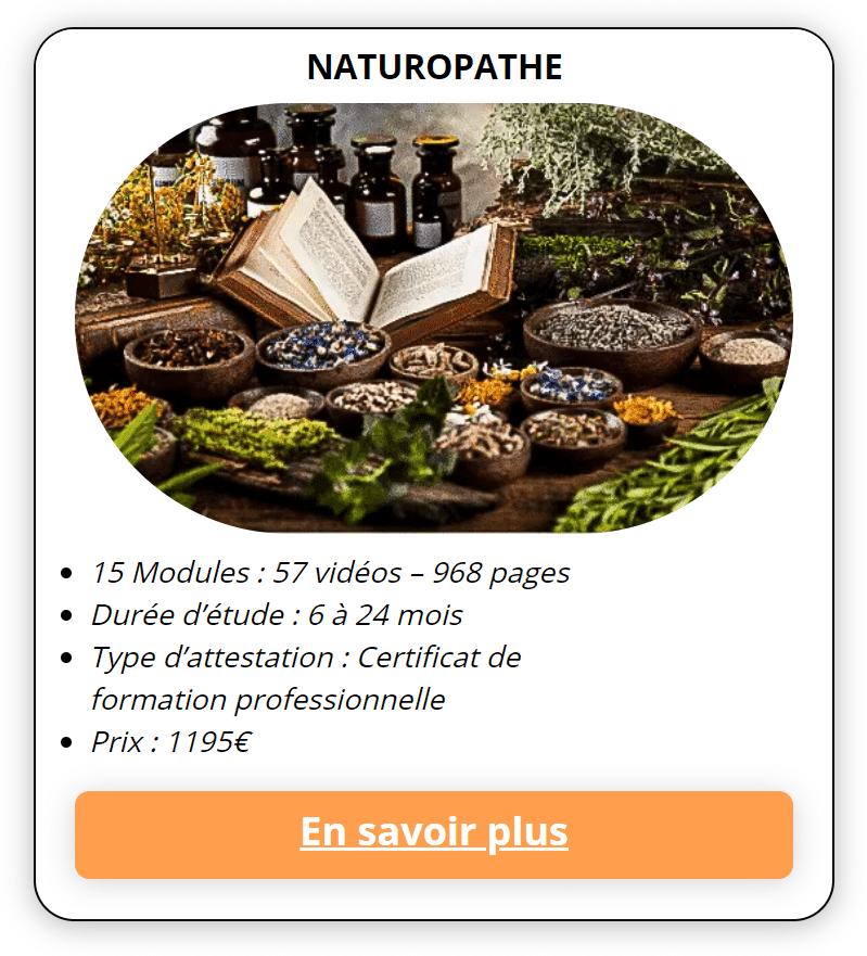 formation naturopathe en ligne